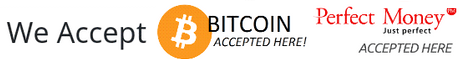 We Accept PM - BTC
